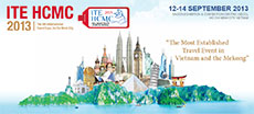 International Travel Expo 2013 opened on Sep 12th 2013 in Ho Chi Minh City