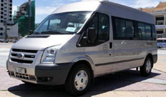 Mercedes Sprinter or Ford Transit (16 seaters)